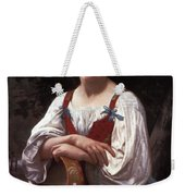 Gypsy Girl With A Basque Drum Weekender Tote Bag