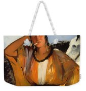 Gypsy With A Cigarette Weekender Tote Bag