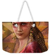 Gypsy Woman Weekender Tote Bag by Ciro Marchetti