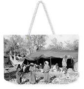 Gyspy Encampment, C1900 Weekender Tote Bag