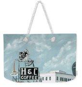 H And C Coffee Weekender Tote Bag