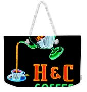 H And C Sign Weekender Tote Bag