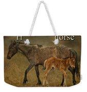 H Is For Horse Weekender Tote Bag