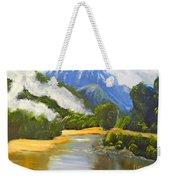 Haast River New Zealand Weekender Tote Bag