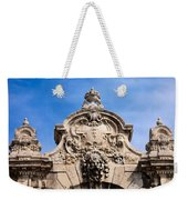 Habsburg Gate Details In Budapest Weekender Tote Bag