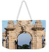 Habsburg Gate In Budapest Weekender Tote Bag