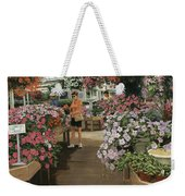 Haefner's Garden Center Impatiens Weekender Tote Bag