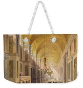 Haghia Sophia, Plate 2 The Narthex Weekender Tote Bag by Gaspard Fossati