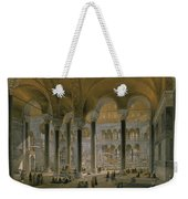 Haghia Sophia, Plate 6 The North Nave Weekender Tote Bag