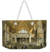 Haghia Sophia, Plate 9 The New Imperial Weekender Tote Bag by Gaspard Fossati