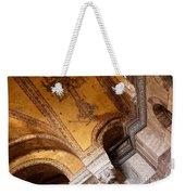 Hagia Sophia Arch Mosaics Weekender Tote Bag