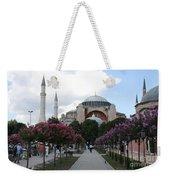 Hagia Sophia I - Istanbul - Turkey Weekender Tote Bag