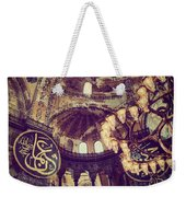 Hagia Sophia Lighting Weekender Tote Bag