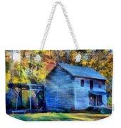 Hagood Mill With Sunrays Weekender Tote Bag