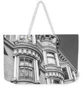 Haight Street Windows Bw Weekender Tote Bag
