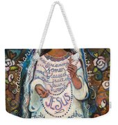 Hail Mary Weekender Tote Bag