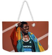 Haile Gebrselassie Weekender Tote Bag by Paul Meijering