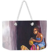 Hair Dresser In Rwanda Weekender Tote Bag