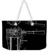 Hair Dryer 2 Patent Art 1911 Weekender Tote Bag