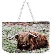 Hairy Cow Weekender Tote Bag