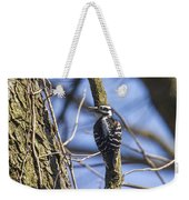 Hairy Woodpecker - Female Weekender Tote Bag