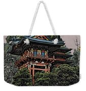 Hakoni Tea House Weekender Tote Bag