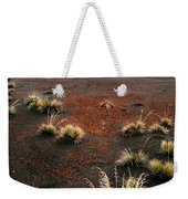 Haleakala - Red And Black Weekender Tote Bag