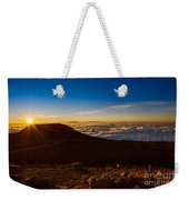 Haleakala Burst Weekender Tote Bag