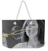 Bubble Girl Weekender Tote Bag