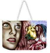 Haleys Apparition Colored Weekender Tote Bag