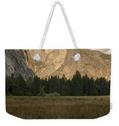 Half Dome And The Yosemite Valley Weekender Tote Bag