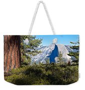 Half  Dome From Sentinel Dome Trail In Yosemite Np-ca Weekender Tote Bag