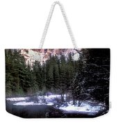 Half Dome Reflection Yosemite National Park California Weekender Tote Bag