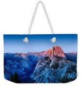 Half Dome Twilight Weekender Tote Bag