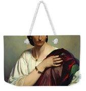 Half-length Portrait Of A Roman Woman Weekender Tote Bag