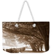 Half Moon Bay Pathway Weekender Tote Bag