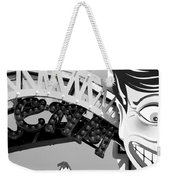 Half Smiled Weekender Tote Bag