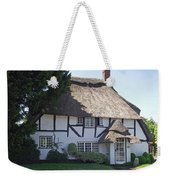 Half-timbered Thatched Cottage Weekender Tote Bag