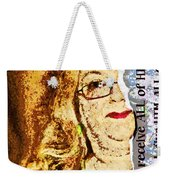 Half Wont Do Weekender Tote Bag