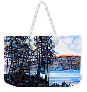 Haliburton Morning Weekender Tote Bag