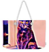 Halifax Cat Weekender Tote Bag