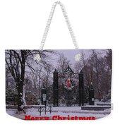 Halifax Christmas Weekender Tote Bag