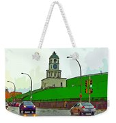 Halifax Historic Town Clock Graphic Weekender Tote Bag