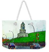 Halifax Historic Town Clock Weekender Tote Bag