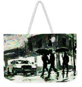 Halifax In The Rain One Weekender Tote Bag