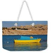 Halki Fishing Boat Weekender Tote Bag