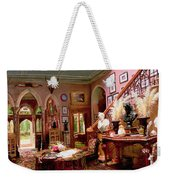 Hall And Staircase Of A Country House Weekender Tote Bag
