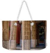 Hall Of 100 Columns Weekender Tote Bag