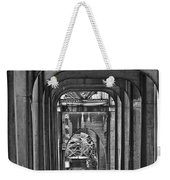 Hall Of Giants - Beneath The Aurora Bridge Weekender Tote Bag