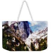Hallett Peak In Spring Weekender Tote Bag